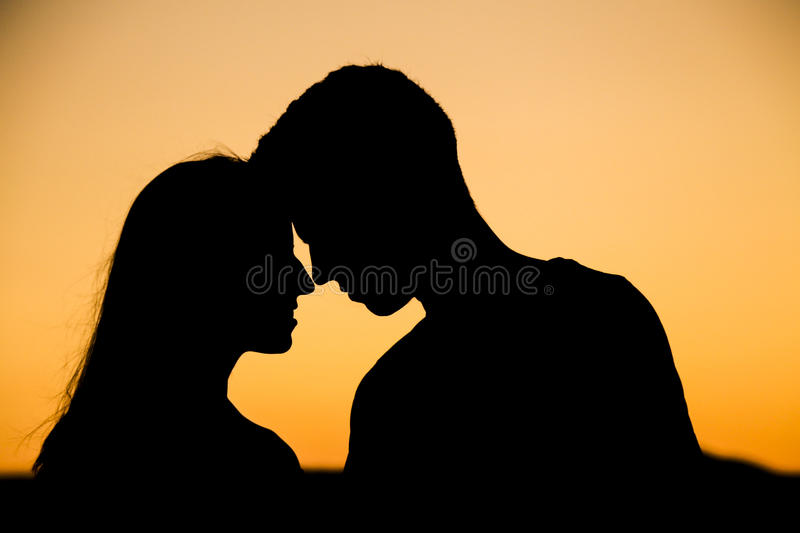 In love. Image full of love and devotion royalty free stock photos