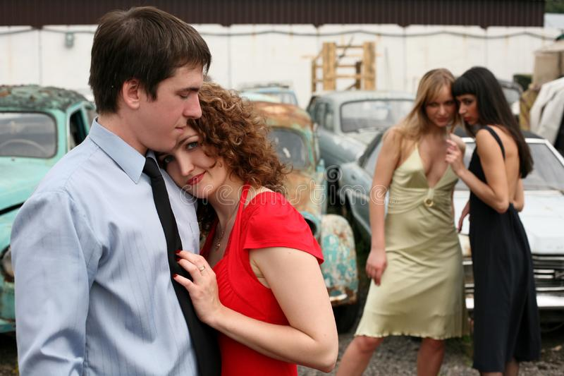 Download Love and jealousy stock photo. Image of male, separation - 8359634