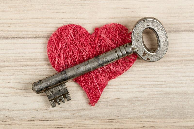 Love Key To My Heart Symbol Of Love Stock Image Image Of Door