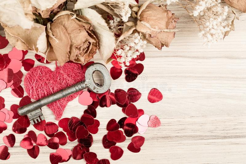 Love Key To My Heart Symbol Of Love Stock Photo Image Of
