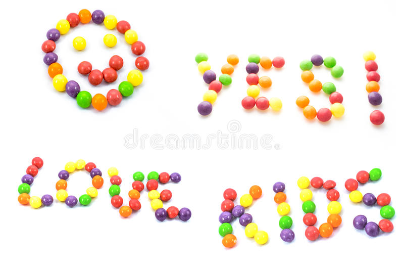 Love kids royalty free stock images