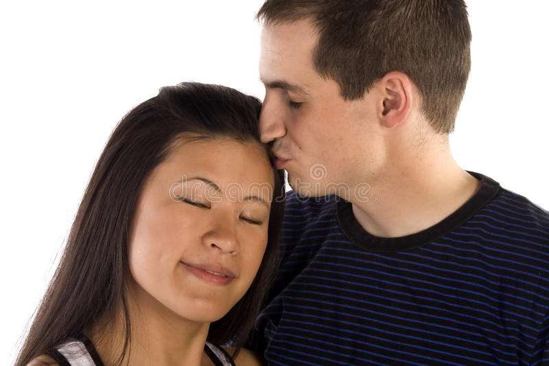 Love Kiss Stock Images