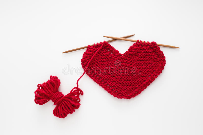 Love Knitting royalty free stock images