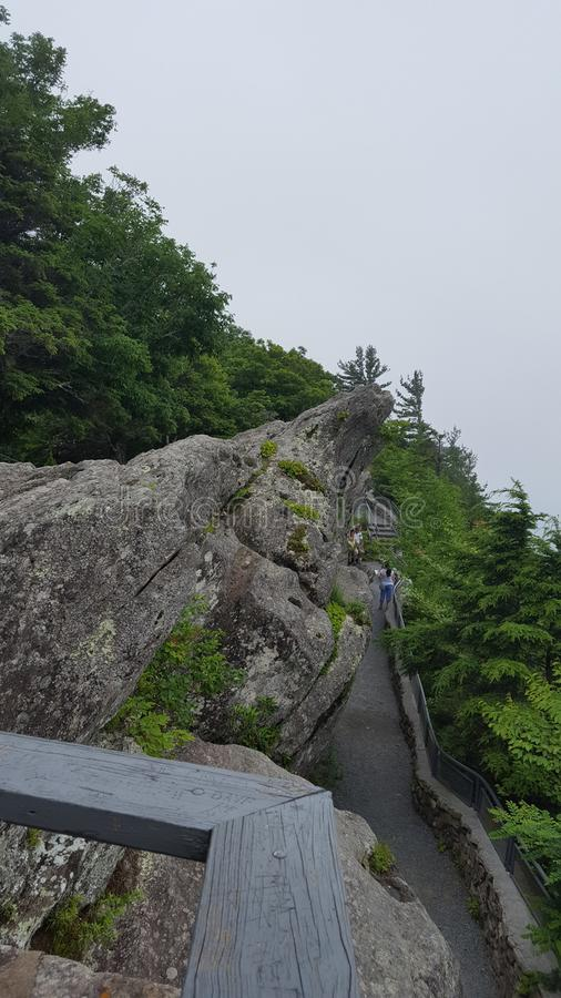 Love legend of Blowing Rock. royalty free stock photography