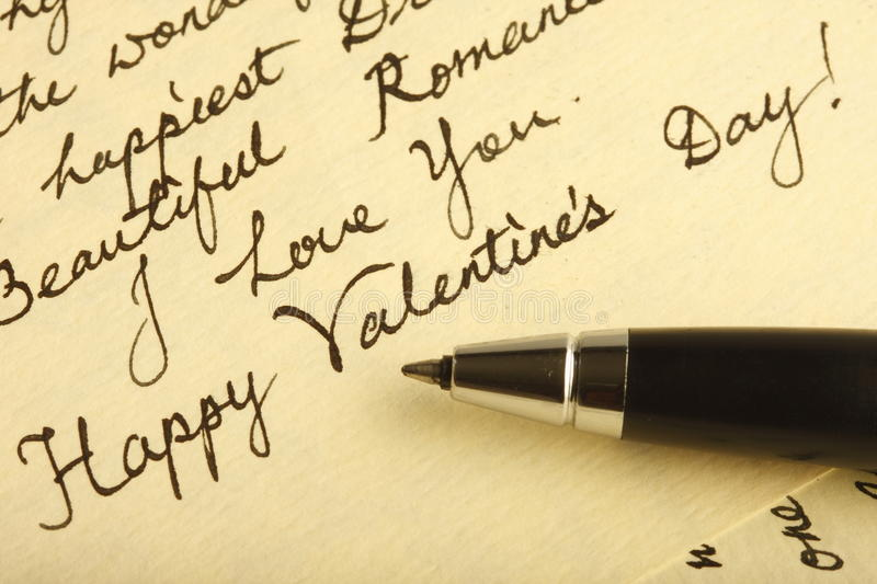 Download Love Letter stock image. Image of valentine, beautiful - 10499679