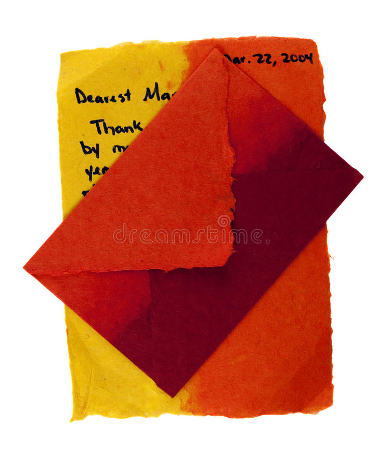 Download Love letter stock image. Image of feelings, texture, thank - 14727287