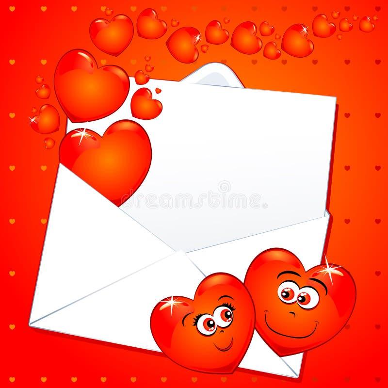 Download Love letter stock illustration. Image of illustration - 17890207
