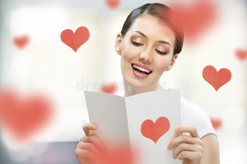 Love letter stock photos
