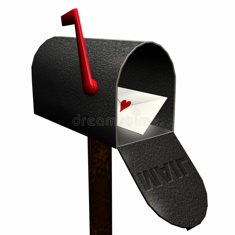 Download Love Letter stock illustration. Image of graphic, mail - 490290
