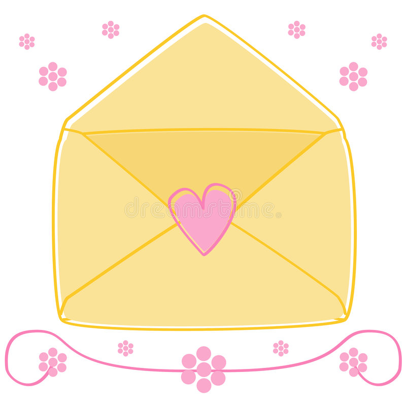 Free Love Letter Royalty Free Stock Image - 9359346