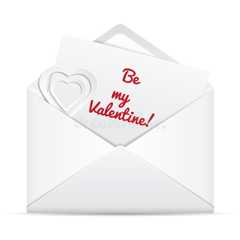 Download Love letter stock vector. Illustration of white, communication - 36092826