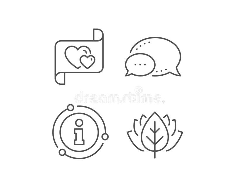 Love letter line icon. Heart mail sign. Vector stock illustration