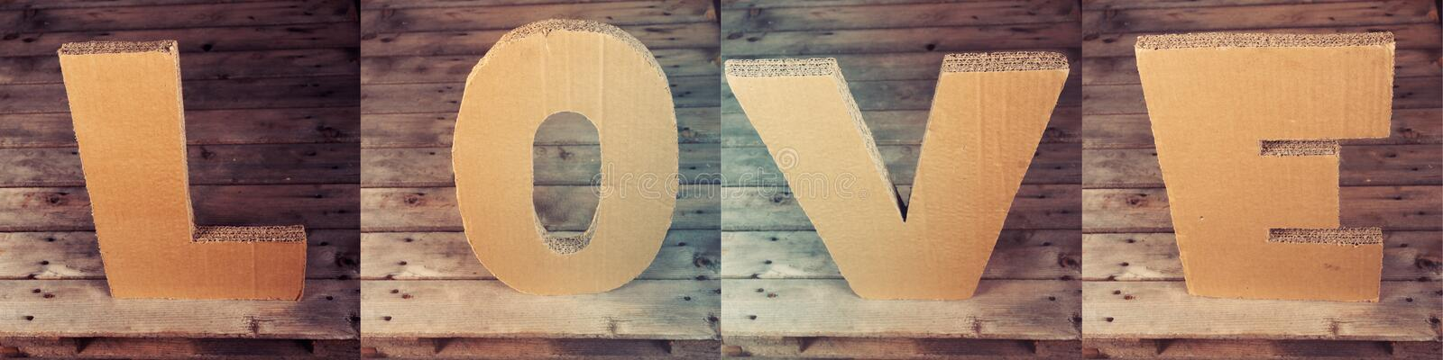 Download Love letters stock image. Image of wood, letter, inscription - 23134329
