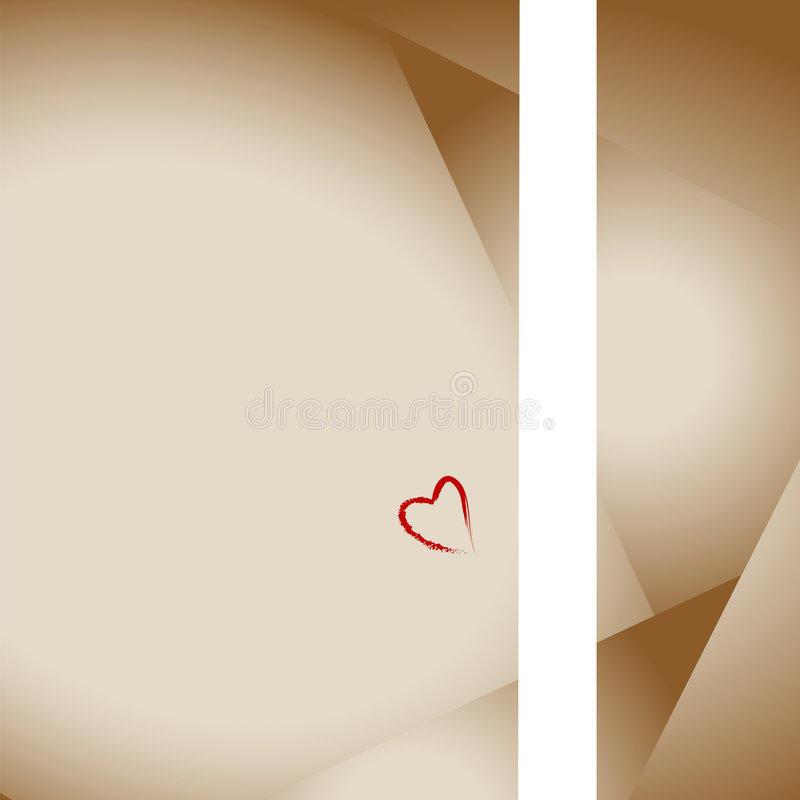Love Lettter Stationery Heart royalty free stock images