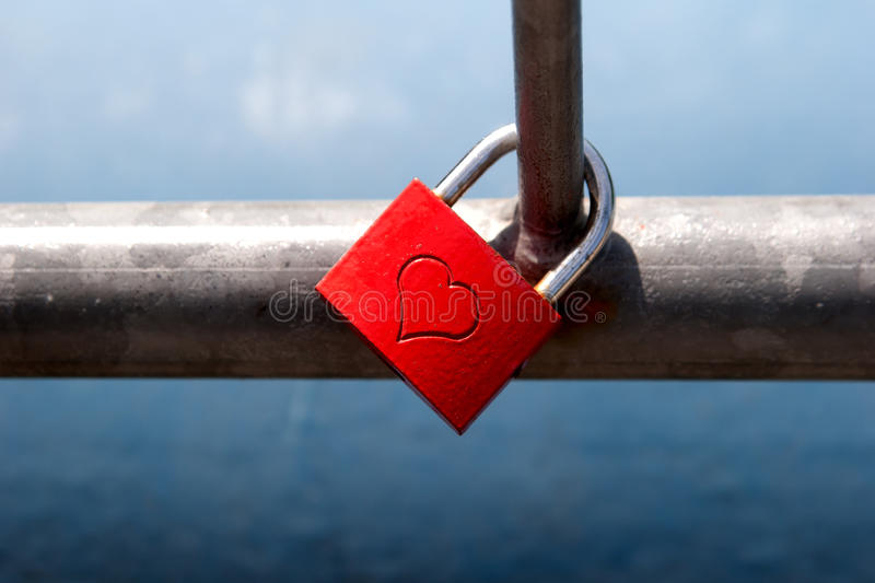 Love-Lock. Love Lock on a brigde royalty free stock image