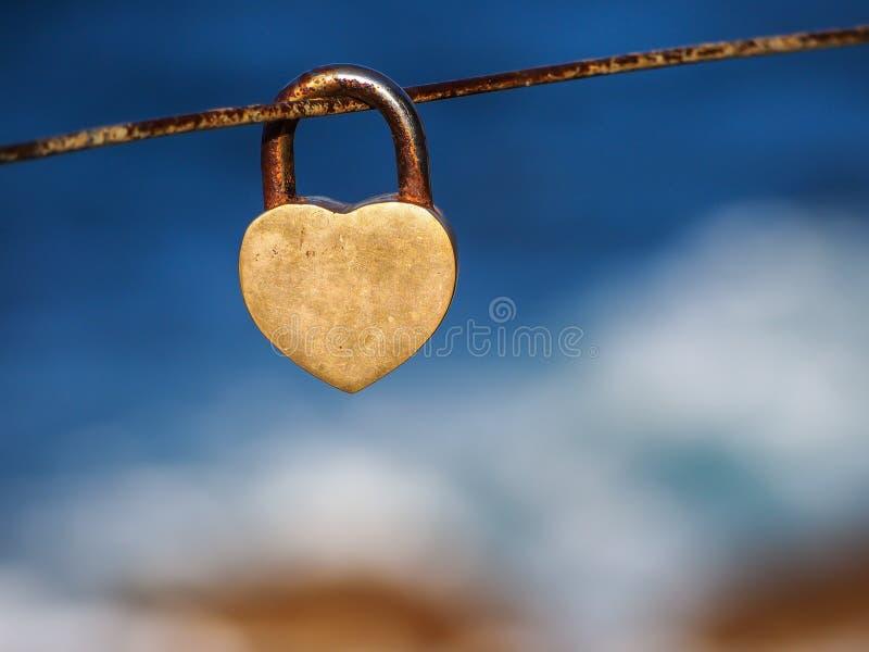Love&lock royalty-vrije stock fotografie