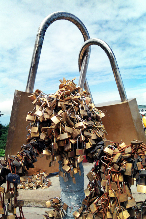 Download Love Locks stock image. Image of love, lovers, nuptial - 4349691
