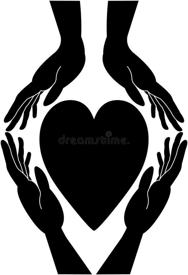 Love making - caring illustration.  vector illustration