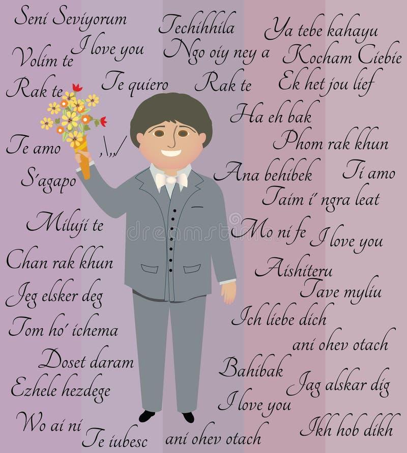 Love Man vector illustration