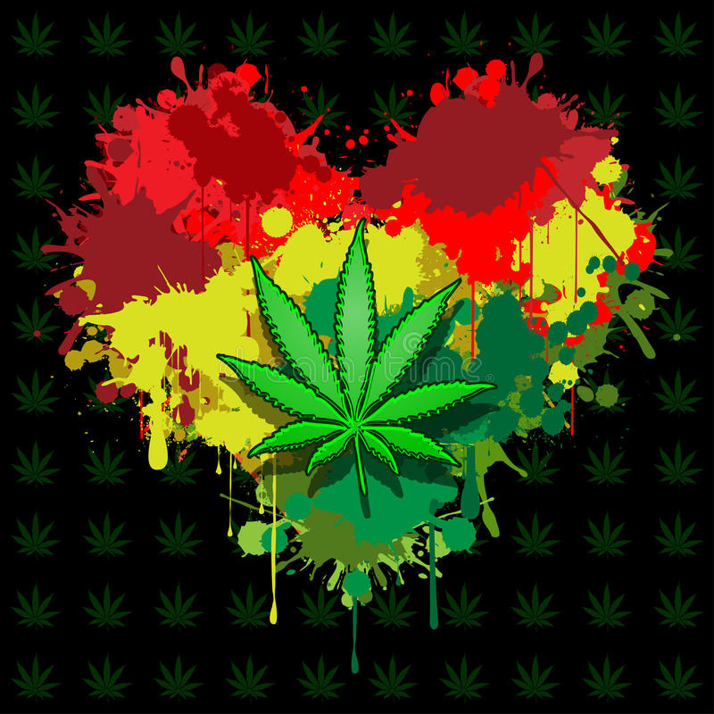 Free Love Marijuana Royalty Free Stock Images - 29306239