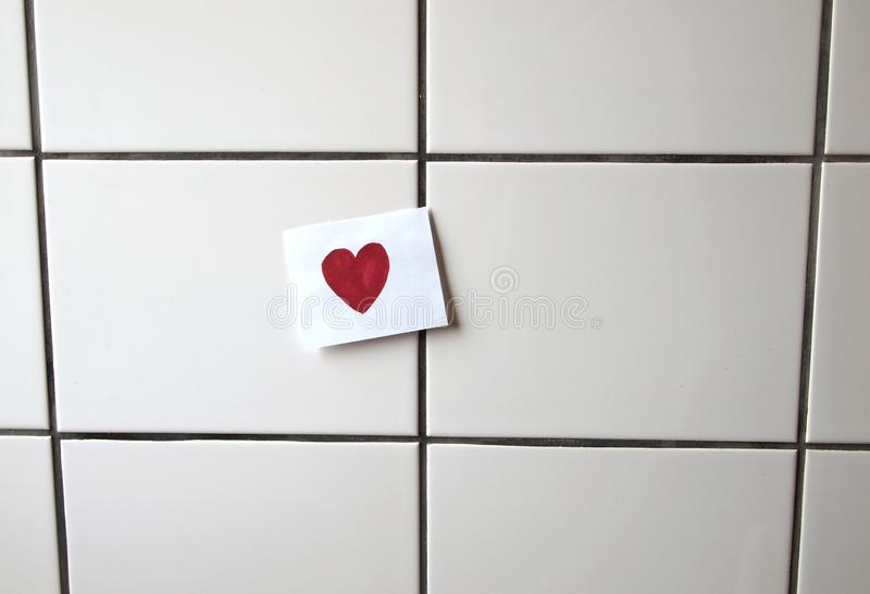 Love message royalty free stock photography
