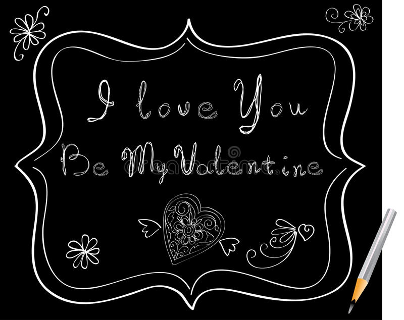 Download Love message stock vector. Image of beauty, beautiful - 22861696