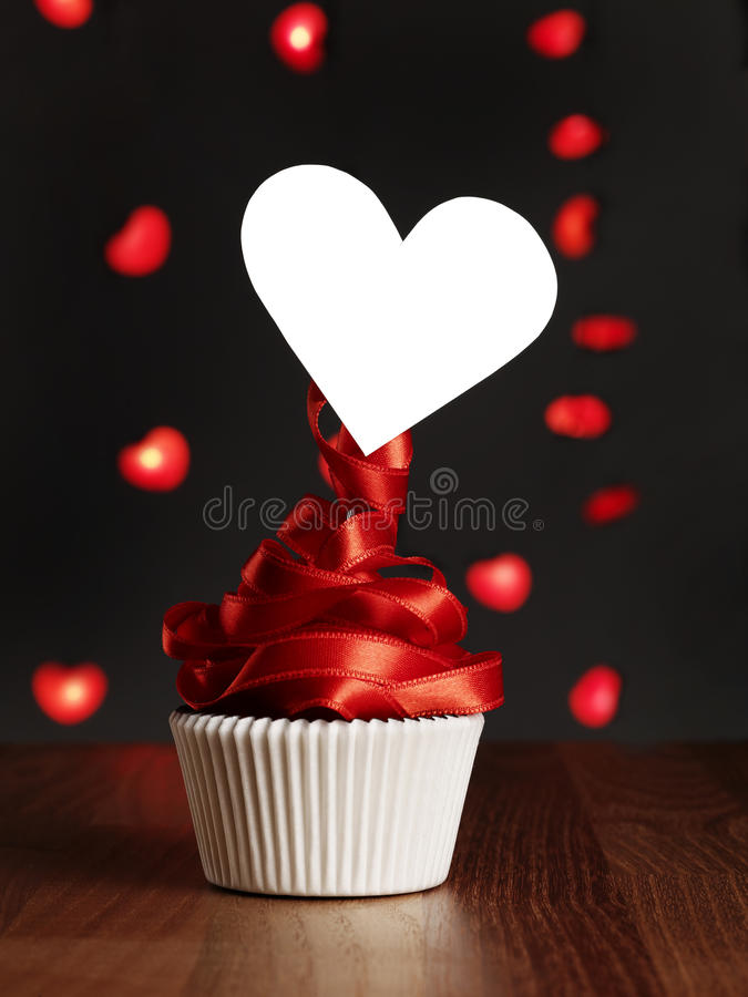 Love message. Valentine's blank heart shaped message royalty free stock image