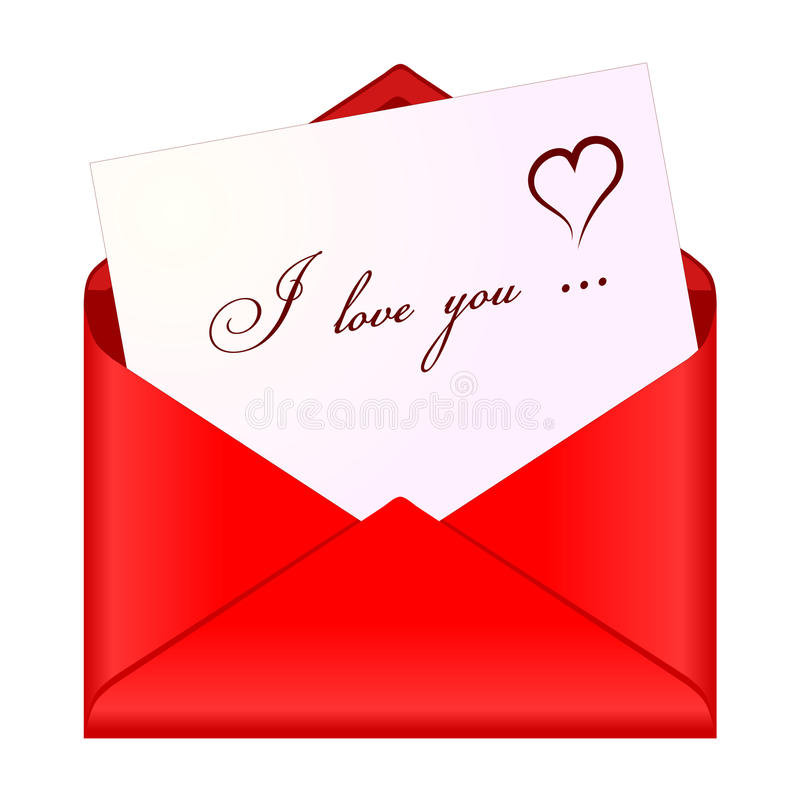 Love Message Royalty Free Stock Photos