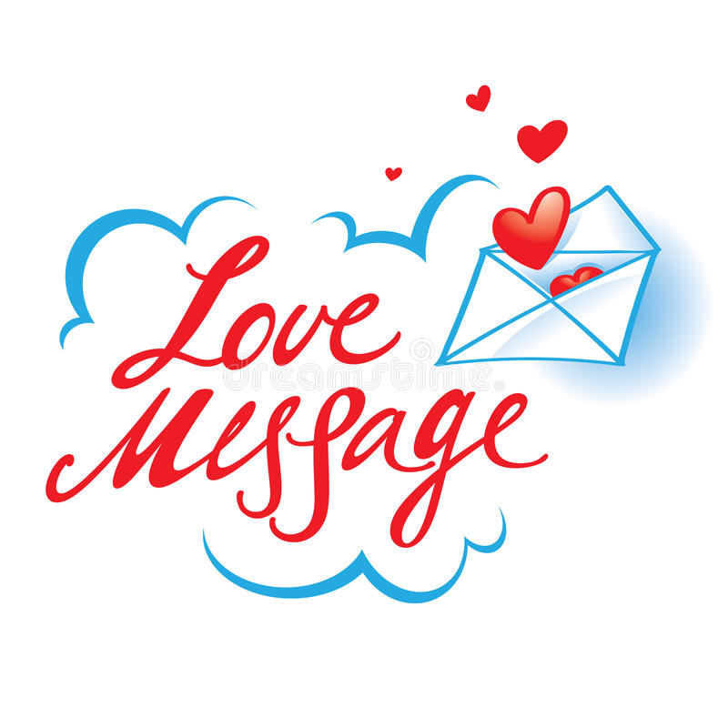 Download Love Message Stock Photography - Image: 27717712