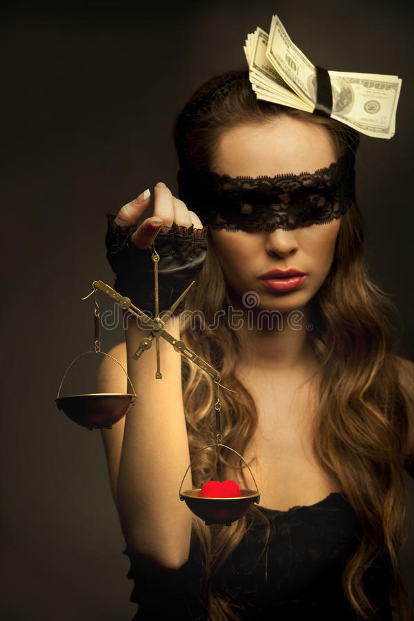 Download Love or money stock photo. Image of attorney, beautiful - 19229490
