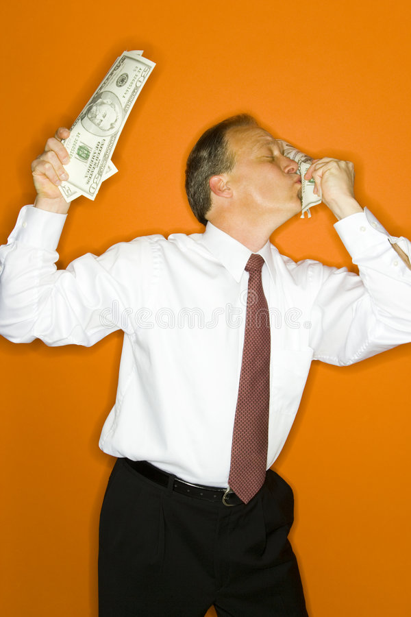 Love for Money stock photo