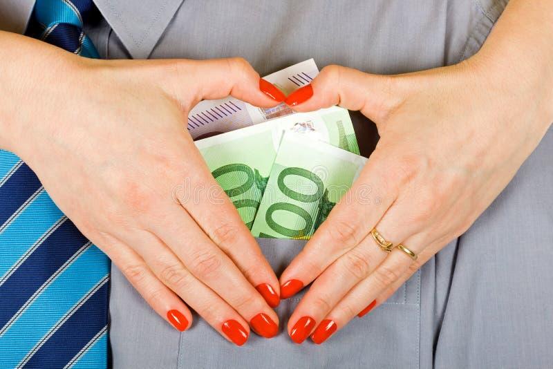 Love of money stock photos