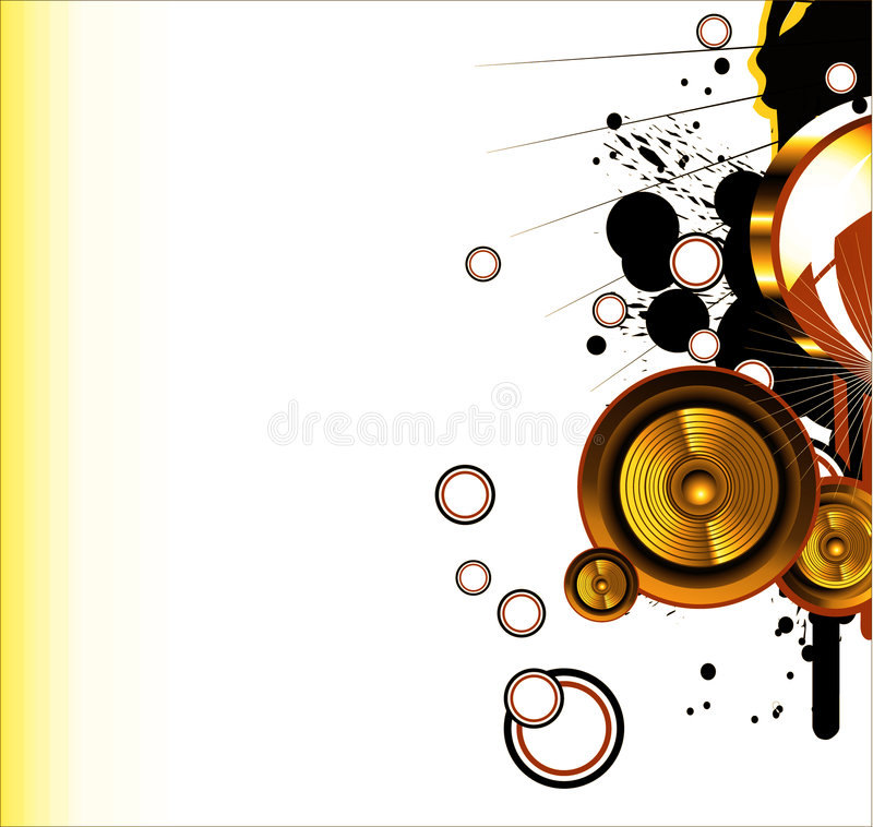 Love and music background stock photo
