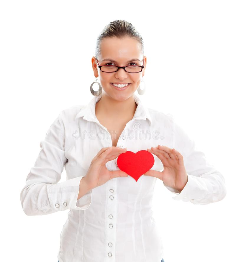 Download Love in my heart stock photo. Image of symbol, heart - 23970914