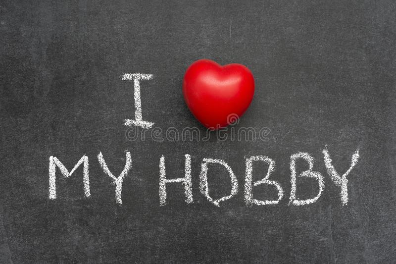 Love My Hobby Stock Photo Image Of Enthusiasm Symbol 107856422