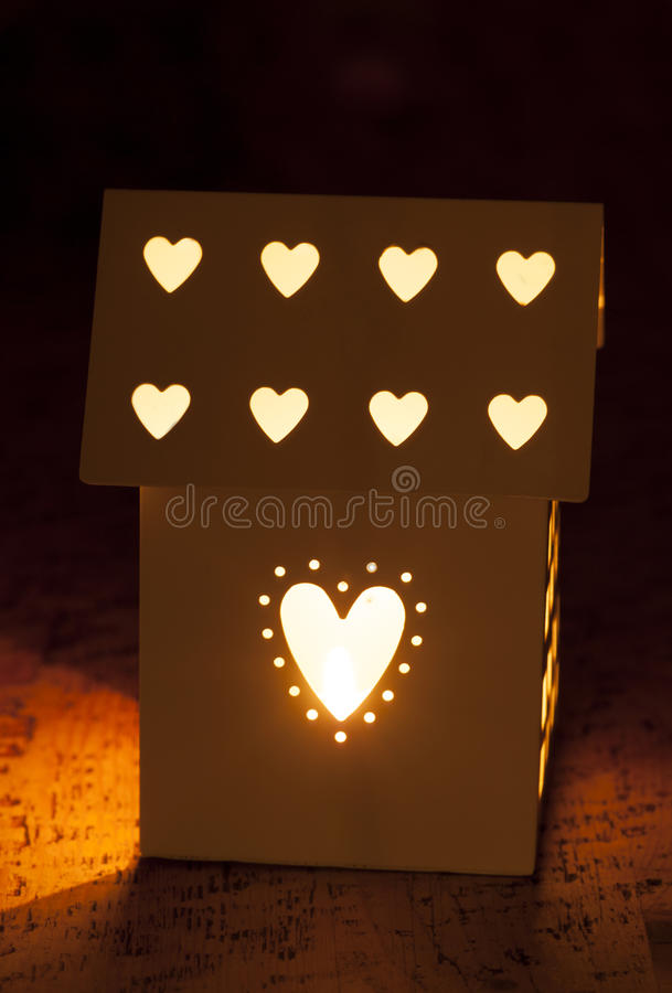 Download Love my home stock image. Image of love, candle, property - 33661675