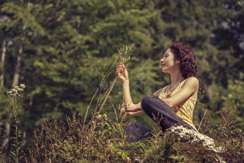 Love of nature stock image