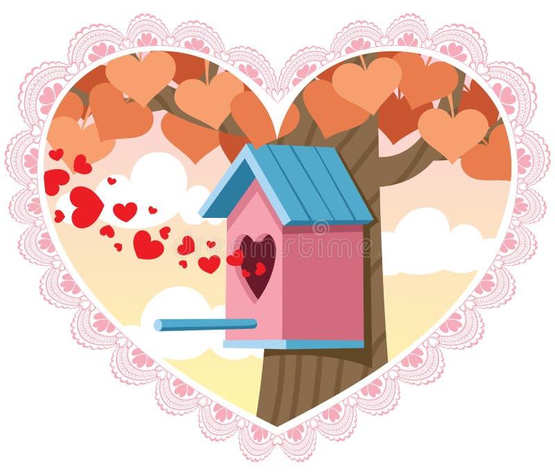 Download Love Nest stock vector. Illustration of card, romance - 22876101