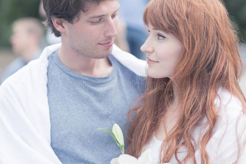 In love with the one sharing the same values royalty free stock photo