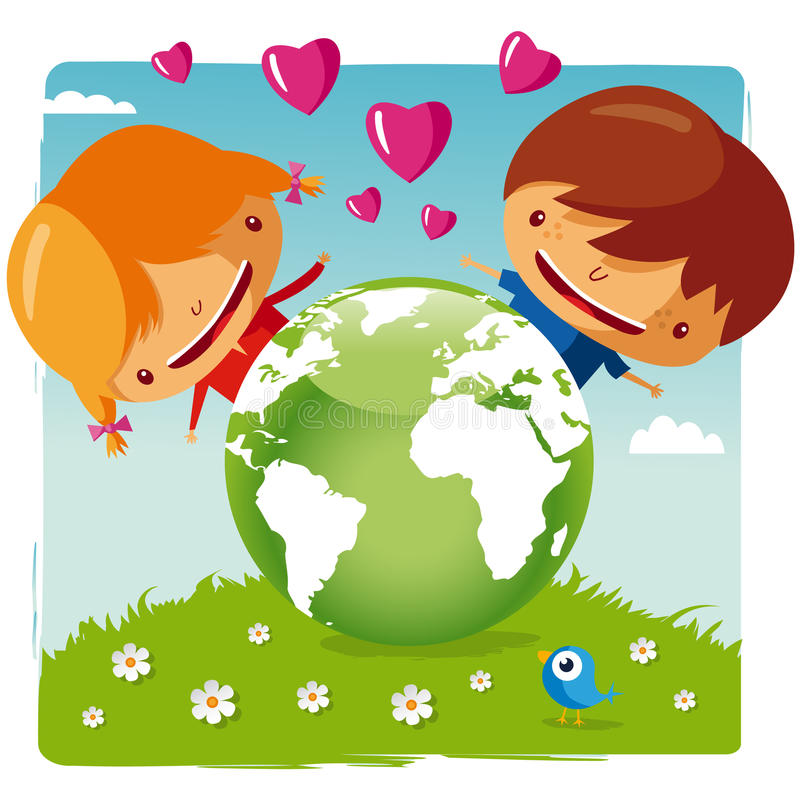 Free Love Our Planet Stock Photography - 19582512