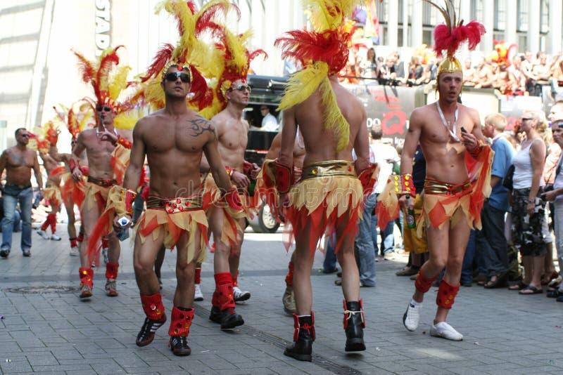Love Parade d'homosexuel images libres de droits
