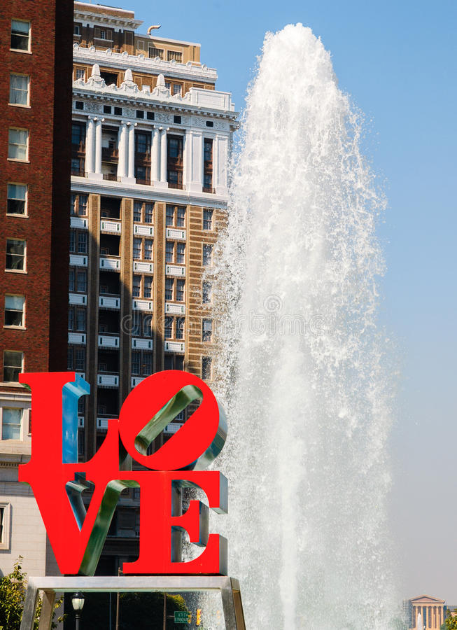 LOVE Park stock images