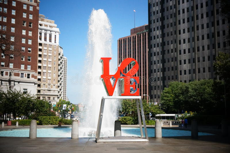 Love park stock image