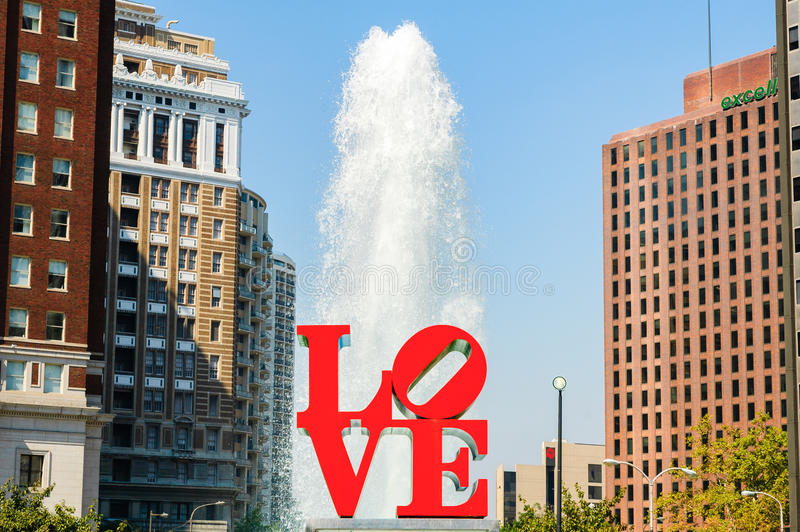 LOVE Park royalty free stock photography