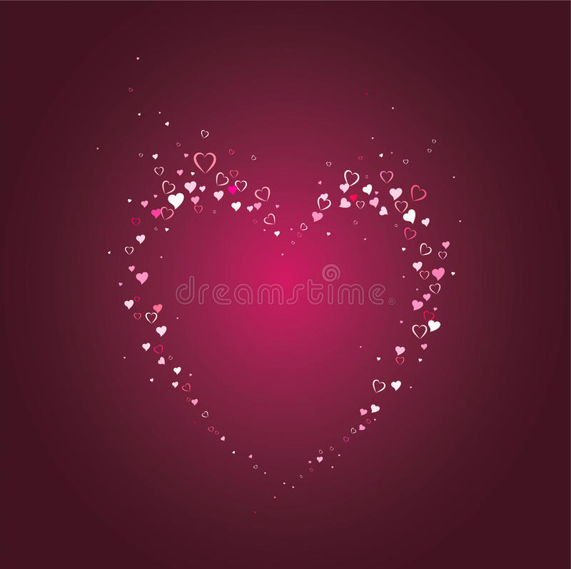 Download Love pattern stock vector. Illustration of love, backdrop - 10249960