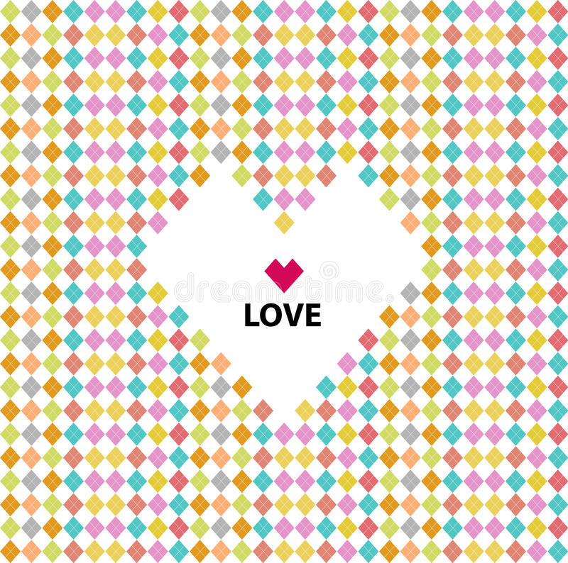 Download Love Pattern, Valentines Day Stock Vector - Image: 28410069