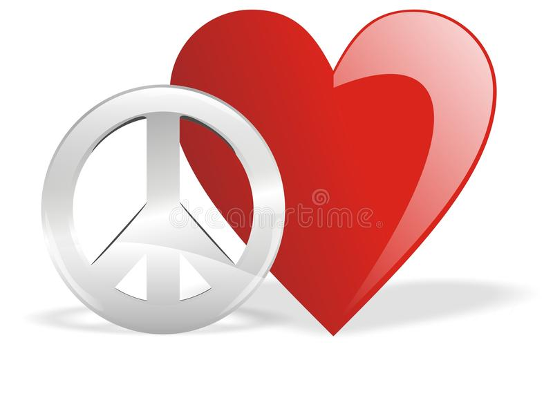 Love And Peace Stock Photo