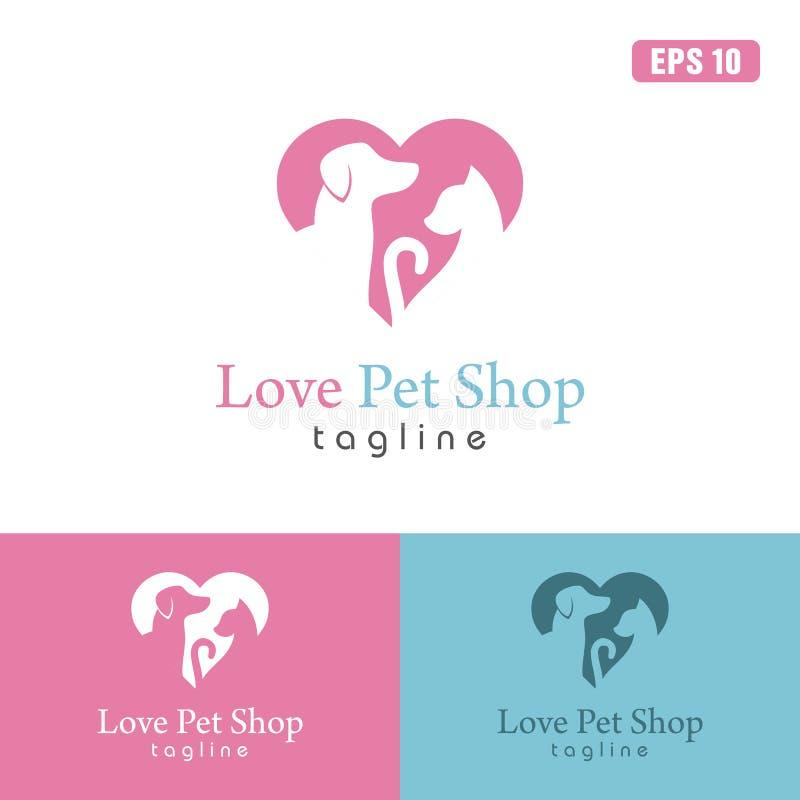 Super Love Pet Shop Logo / Icon Vector Design Business Logo Idea Stock  GU89