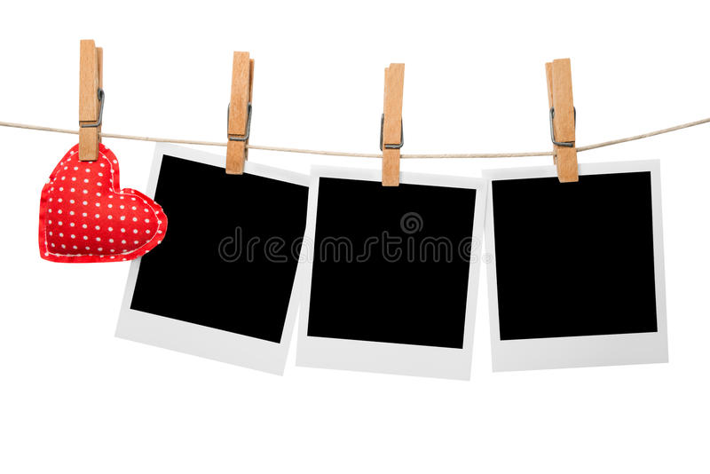 Download Love photo frames stock image. Image of empty, image - 29917091