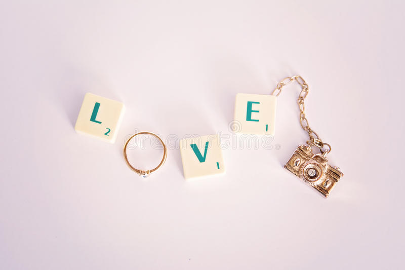 Love of photography stock photos